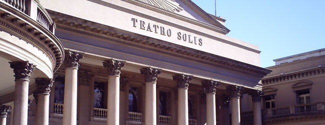 Teatro Solis in Montevideo